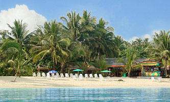 Beachfront resort Moonhut Bungalows Koh Samui